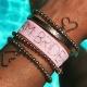 Lot 3 bracelets élastique
