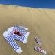 Drap de plage Ôbaba XXL+ Saint James Rouge