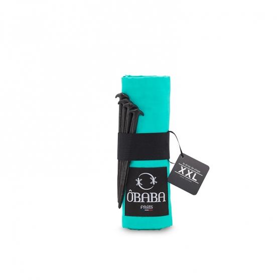 drap de plage baba xxl moorea turquoise. Black Bedroom Furniture Sets. Home Design Ideas