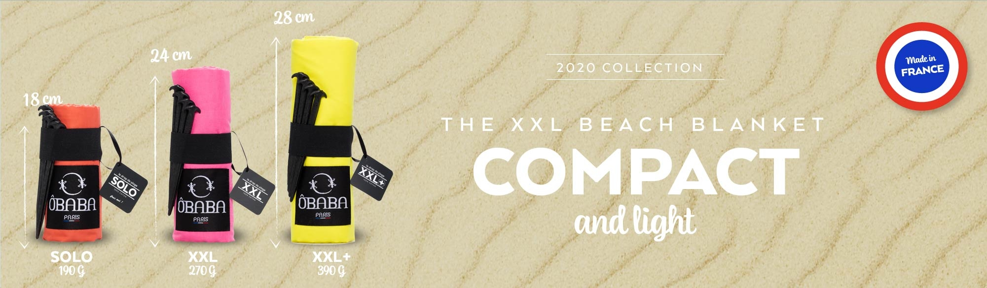 The compact beach blanket