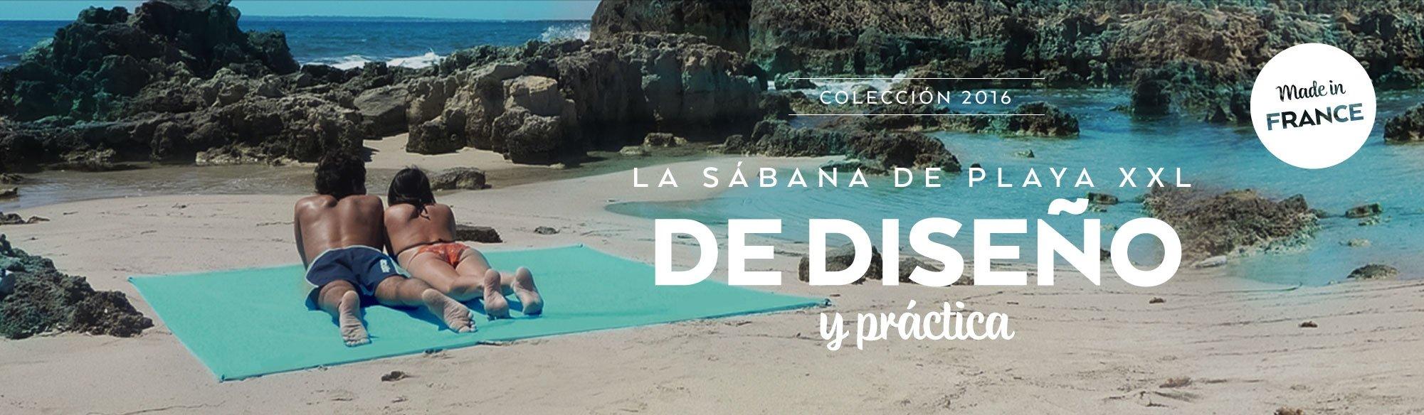 La sabana de playa de diseno