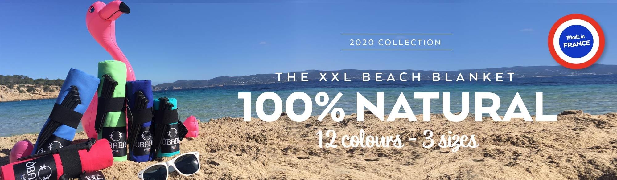 The natural beach blanket