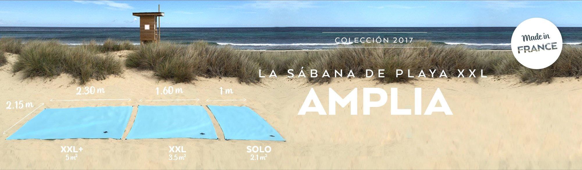 La sabana de playa amplia
