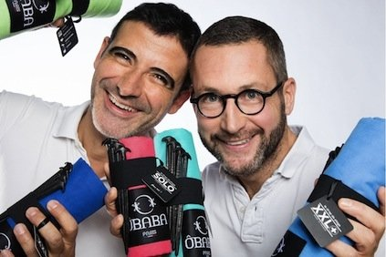 Here we have Mario and Philippe, who launched ÔBABA in 2012. They worked on this project for a long while before 2012. Mario was born in Spain and Philippe in France, both lived in Paris when they decided to start with this project. Beach towels have always been boring and unfit for the beach: too heavy, too small, always humid and not resistant to the wind. On the top of that the quality of most beach towels and sarongs was (and still is) very bad!  Market research told them that there was an opportunity to turn their idea into a successful business.  Their  business plan was the foundation of ÔBABA business. It was a roadmap for how to structure, run and grow the new business. They decided to locate the business in Paris. ÔBABA has also very strong links with Ibiza, Lille, Vosges region, Gijón, Lyon and Italy. The product is made in France.    It was not easy to pick the perfect name, and it was a young girl (Louise) from Lille, who found it for us when she was only 10 years old: ÔBABA she shouted during a dinner... The sound of that name immediately reflected the brand and captured the spirit, also that business name wasn't already being used by anyone else. It was the perfect name.